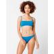 ROXY Beach Classics Blue Hipster Bikini Bottoms