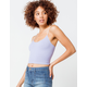 FULL TILT Strappy Seamless Lilac Womens Cami