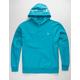 CHAMPION Garment Dyed Reverse Weave Blue Mens Hoodie