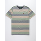 HIPPYTREE Elmore Heather Gray Mens Pocket Tee