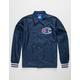CHAMPION Big C Logo Indigo Mens Coach Jacket