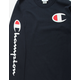 CHAMPION C Logo Screen Navy Mens T-Shirt