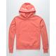CHAMPION Garment Dyed Reverse Weave Papaya Mens Hoodie