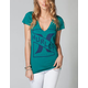 HURLEY First String Womens Tee
