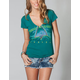 HURLEY Palm On The Corner Womens Tee