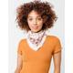 TWIG & ARROW Vintage Floral Neckerchief