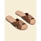 DOLCE VITA Chaia Caramel Womens Sandals