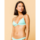 FULL TILT Fixed Triangle Frost Bikini Top