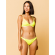 FULL TILT Skimpy Neon Yellow Bikini Bottoms