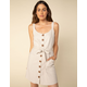 WEST OF MELROSE Pushing My Buttons Tie Waist Dress