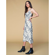WEST OF MELROSE Hissy Fit Satin Midi Dress