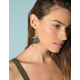 WEST OF MELROSE Feather Earrings