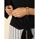 WEST OF MELROSE Beaded Cuff Bracelet
