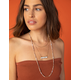 WEST OF MELROSE Howlite Layered Necklace