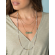 WEST OF MELROSE Marble Layered Necklace