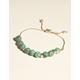 WEST OF MELROSE Malachite Beaded Bracelet