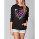 YOUNG & RECKLESS Power Circle Womens Hoodie