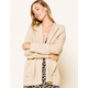 WEST OF MELROSE Up For Knit Womens Boyfriend Cardigan