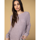 WEST OF MELROSE Frayed Not Womens Sweater