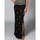 LIRA Ethnic Print Maxi Skirt