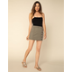 WEST OF MELROSE Bright As A Button Mini Skirt