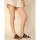 STEVE MADDEN Pascale Black Womens Sandals