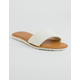 VOLCOM Simple Slide White Womens Sandals