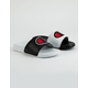 CHAMPION Super Slide Mix Match White & Black Boys Slide Sandals