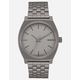 NIXON Time Teller Dark Steel Watch