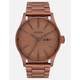 NIXON Sentry SS Matte Copper & Gunmetal Watch