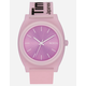 NIXON Time Teller P Invisi-Pink Watch