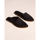 COCONUTS Xander Black Womens Mules