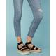 STEVE MADDEN Kimmie Black Flatform Espadrille Sandals