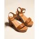 MADDEN GIRL Lifft Cognac Womens Heeled Sandals