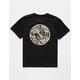 SALTY CREW Palomar Triad Black Boys T-Shirt