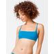 ROXY Beach Classics Bandeau Blue Bikini Top