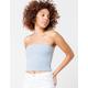 FULL TILT Essentials Blue Womens Tube Top