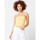 FULL TILT Essentials Yellow Womens Tube Top