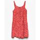 FULL TILT Floral Button Front Girls Romper