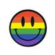 STICKIE BANDITS Rainbow Smile Sticker