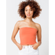 FULL TILT Essentials Rust Womens Tube Top