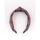 FULL TILT Plaid Top Knot Headband