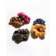FULL TILT 5 Piece Corduroy Scrunchies