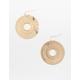 FULL TILT Round Filigree Earrings