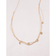 FULL TILT Layered Coin Chain Necklace