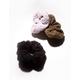 FULL TILT 3 Pack Teddy Scrunchies