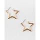 FULL TILT Star Cutout Earrings