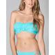KANDY WRAPPERS Bandeau Fringe Bikini Top