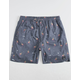 CAPTAIN FIN Lounge Lizard Navy Mens Volley Shorts