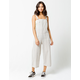 SKY AND SPARROW Stripe Womens Overalls